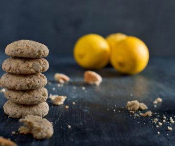 Limonini piškotki z makovimi semeni